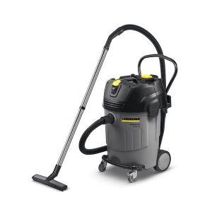 Aspiradora gris de uso profesional es un potente aspirador en seco y en húmedo con sistema ApClean para una potencia de aspiración alta y constante con largos intervalos de trabajo