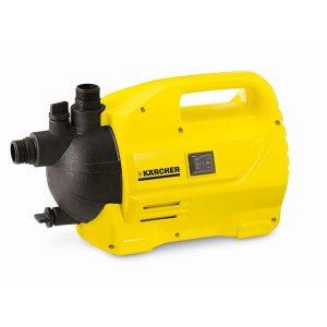 Electrobomba de uso profesional, color amarillo permite un riego con regularidad en su jardin, gracias a su elevada potencia, las bombas pueden alimentar perfectamente varios rociadores.