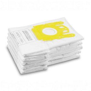 Bolsa de filtro de fieltro color blanco, extremadamente resistente a la rotura y fabricada en material no tejido para vc6300- vc6200