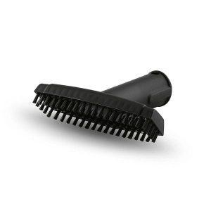 Boquilla manual, color negro con cerdas adicionales para la limpieza de pequeñas superficies.