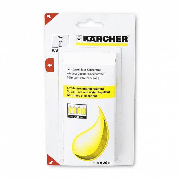 Detergente en un embalaje dosificado de forma práctica para obtener una limpieza sin marcas en superficies lisas resistentes al agua