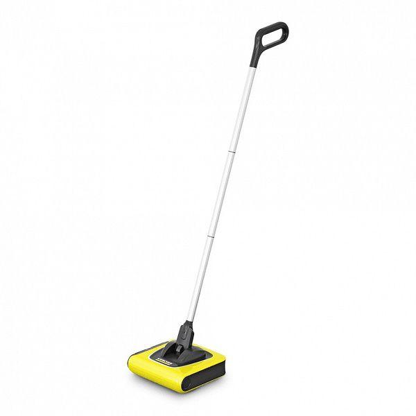 Escoba electrica especial para limpiar suelos duros y alfombras de forma rapida y eficaz