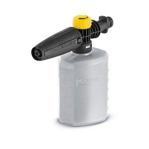 Boquilla de espuma FJ 6, color gris para limpiar con espuma potente,Compatible con hidrolavadoras Karcher K2, K3, K4, K5, K7
