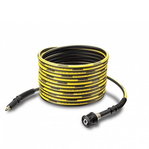 Prolongación de mangueras, color amarillo de alta presión para una mayor flexibilidad.