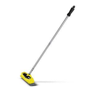 Power Schrubber PS 40, color amarillo con tres boquillas de alta presión integradas.