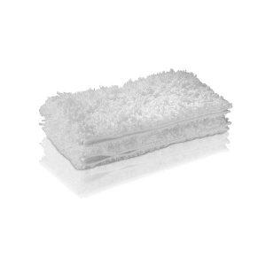 dos paños, color blanco suaves para suelos de microfibra de alta calidad para la Boquilla de Suelos Classic garantizan un mejor desprendimiento y recogida de la suciedad