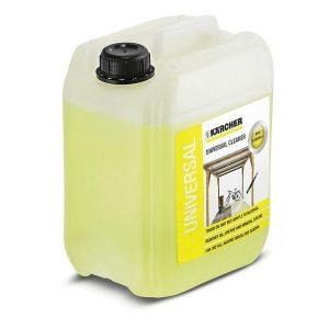 Potente detergente de limpieza multiuso elimina aceites, grasas y suciedad mineral sin esfuerzo. formato de 5 litros