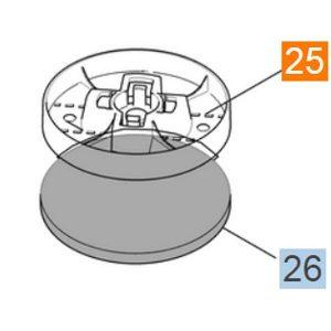 Repuesto para Lustro-Aspiradora FP303 de Karcher