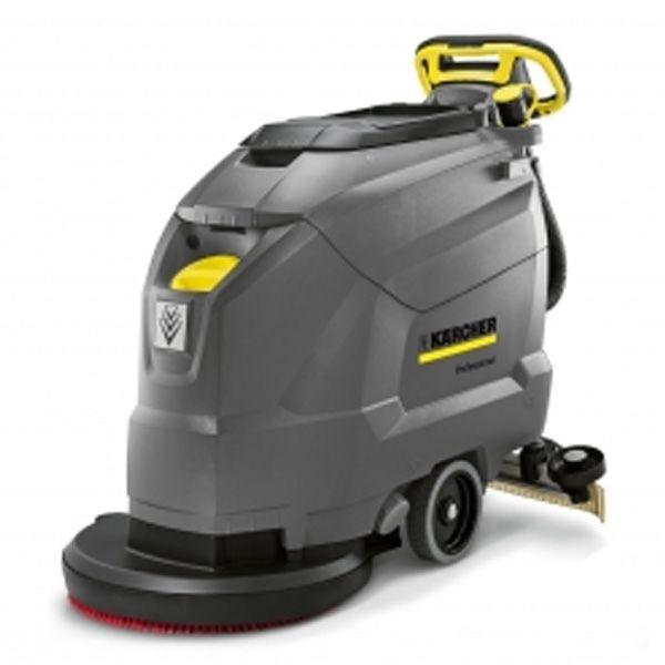 Vacuolavadora color gris, de uso profesional consigue unos resultados de limpieza máximos con un equipamiento mínimo. Sus ajustes y funciones más importantes se han reducido a lo esencial, lo cual permite una aplicación eficaz