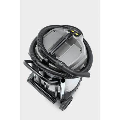 aspiradora karcher profesional color gris y negro