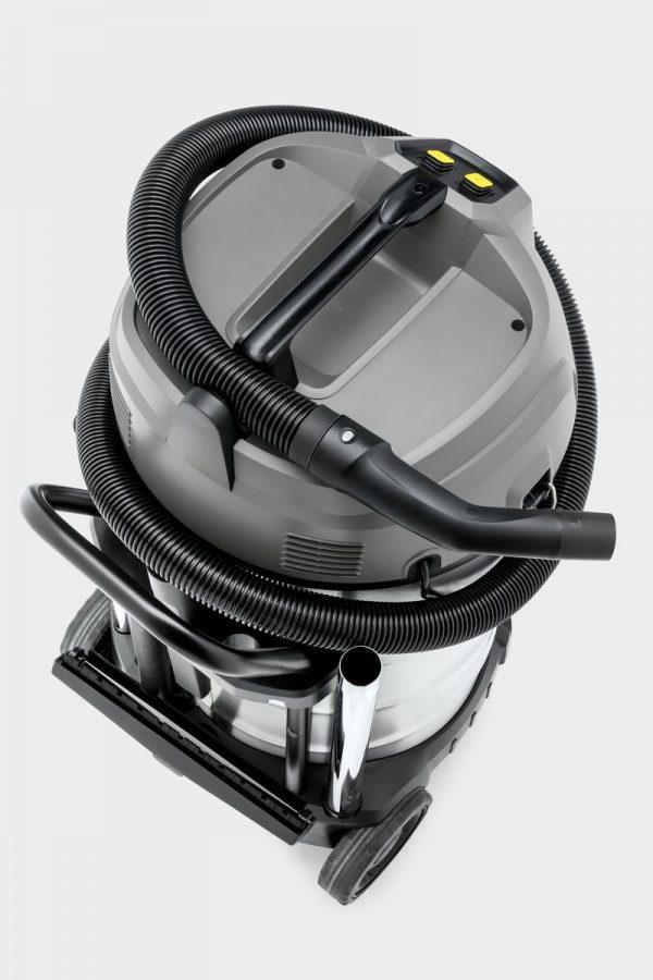 aspiradora karcher nt 90/2 color gris y negro