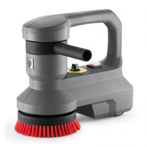 Fregadora para escaleras, color gris, de uso profesional puede utilizarse también en superficies en las que, por su tamaño, no se utilizan los clásicos equipos de limpieza automáticos y se sigue limpiando manualmente, lo que supone un alto coste