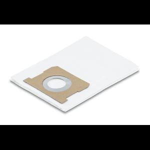 Bolsa de filtro de papel color blanco, compatible con aspiradoras WD1 /MV