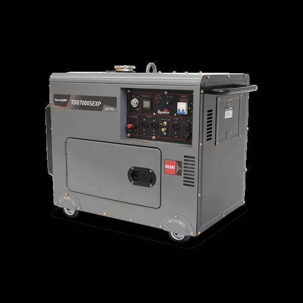 generador diesel 5,5kw partida eléctrica toyama