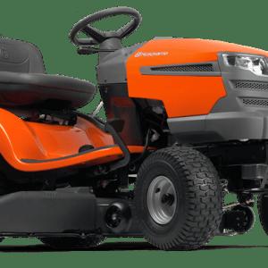 tractor de cortar pasto ts142 de 19 hp marca husvqarna